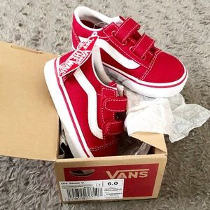 New! Toddler Vans Classic size 6 with box & tags